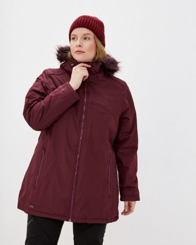 Утепленная красная куртка Regatta