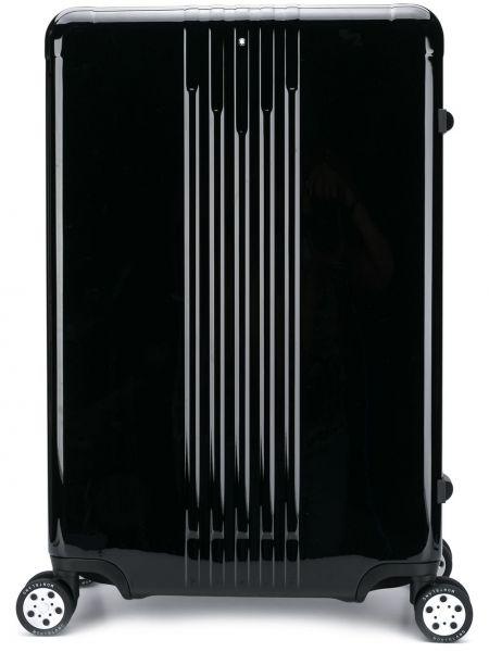 Światło czarny walizka prostokątny Montblanc