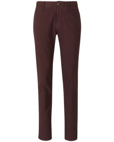 Czerwone spodnie Incotex