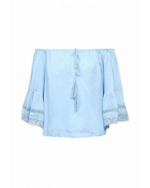 Ватная хлопковая блузка с открытыми плечами с открытыми плечами Fresh Cotton
