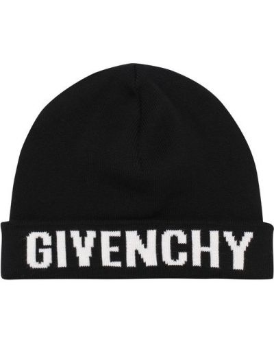Шапка бини с отворотом из джерси Givenchy