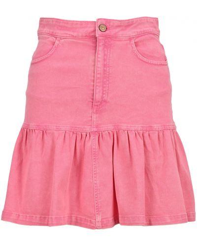 Różowa spódniczka mini See By Chloe