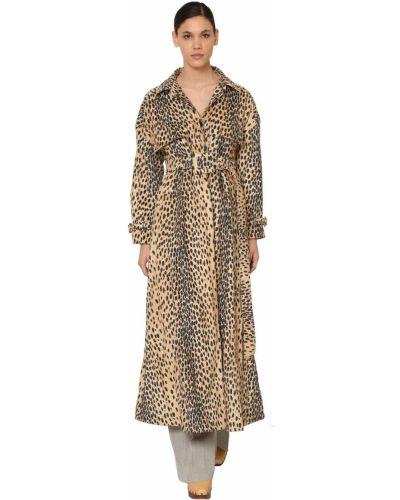 Płaszcz z paskiem bawełniany klamry Jacquemus