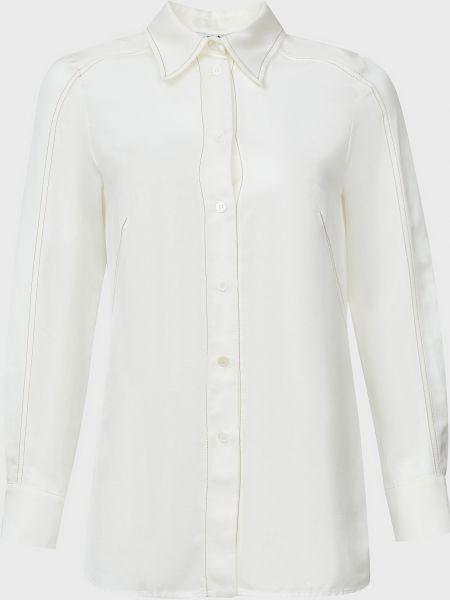 Рубашка из вискозы - белая Beatrice.b