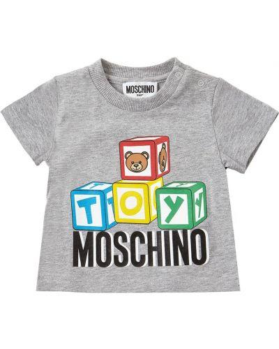Bawełna t-shirt Moschino