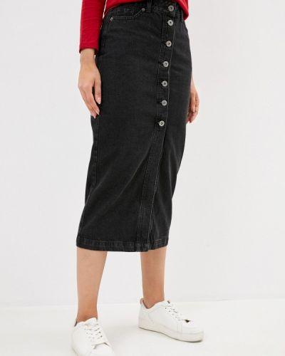 Серая джинсовая юбка Zarina