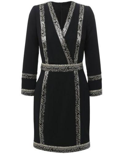 Платье с подкладкой из вискозы Zuhair Murad