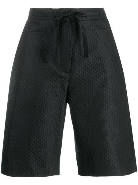 Шорты с карманами - черные Christian Dior