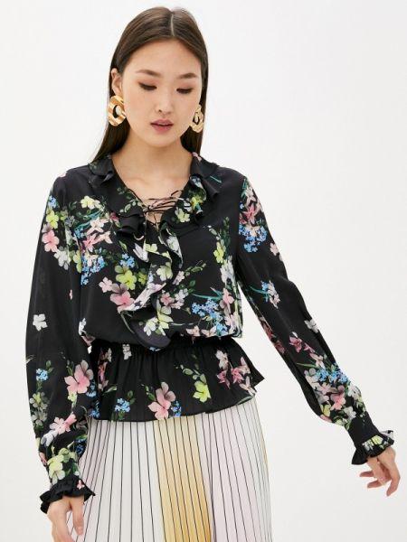 Блузка с длинным рукавом черная весенний Ted Baker London