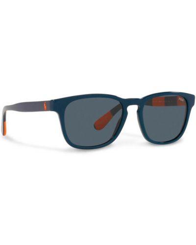 Okulary - granatowe Polo Ralph Lauren