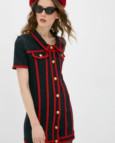 Черное джинсовое платье Love Moschino