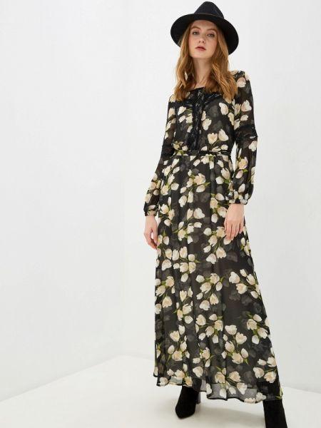 Черное вечернее платье Argent