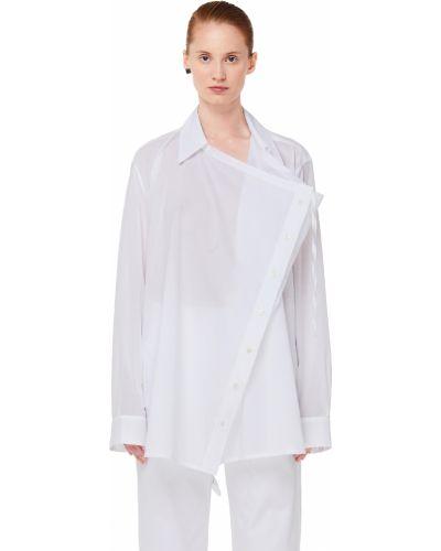 Блузка белая Ann Demeulemeester