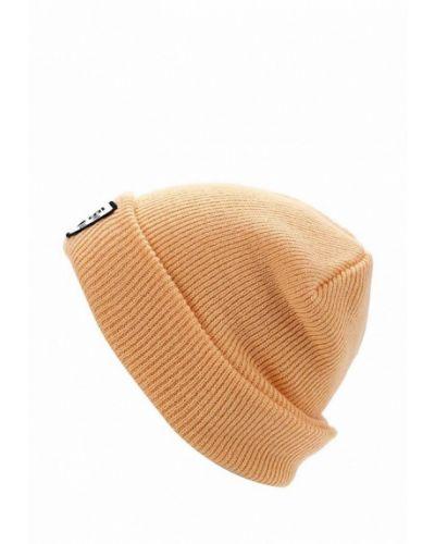 Оранжевая шапка весенняя Vans