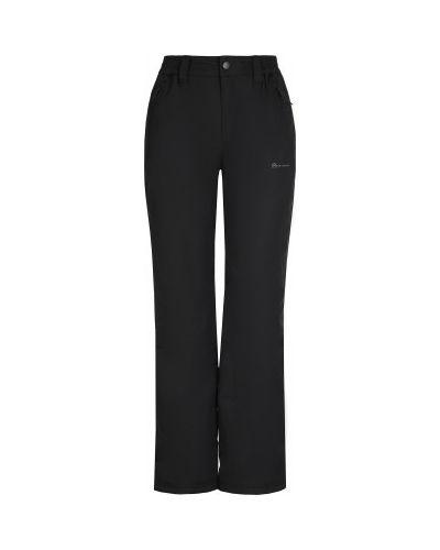 Прямые черные утепленные спортивные брюки Outventure