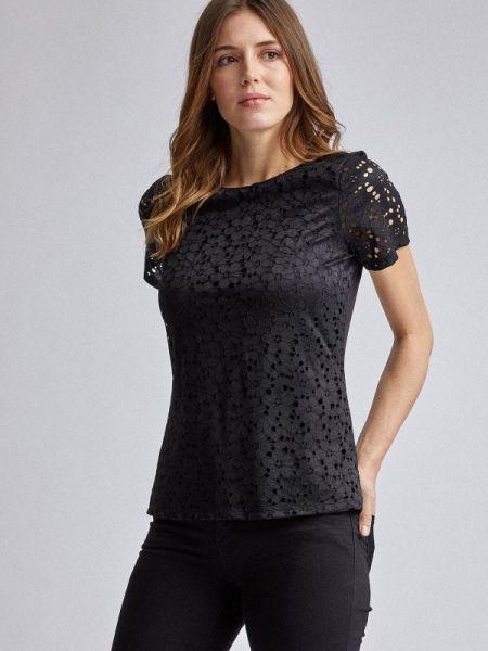 Блузка - черная Dorothy Perkins