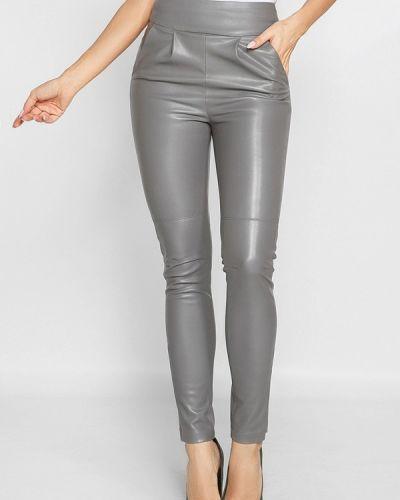Серые брюки Gepur