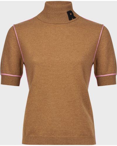 Кашемировые гольфы - коричневые Rochas