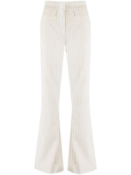 Расклешенные брюки с карманами из вискозы с потайной застежкой Dorothee Schumacher