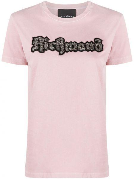 Топ розовый короткий John Richmond