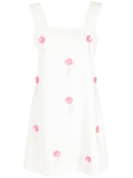 Платье без рукавов - белое Olympiah