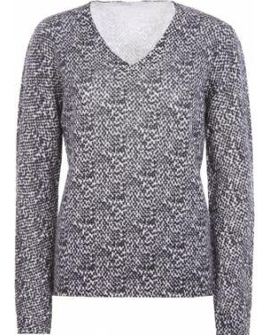 Пуловер с V-образным вырезом кашемировый Agnona
