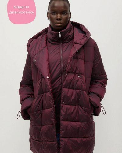 Фиолетовая теплая куртка Violeta By Mango