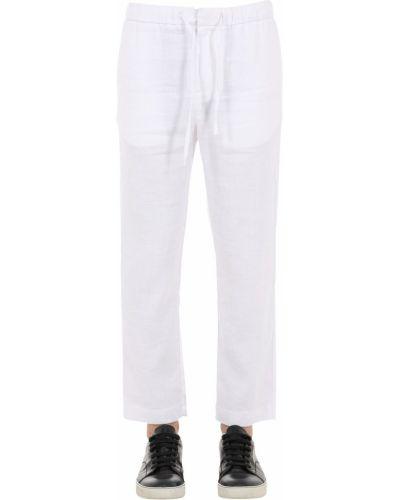 Białe spodnie Frescobol Carioca