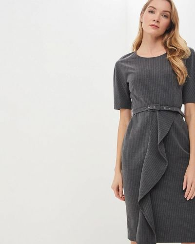 Платье - серое Lusio