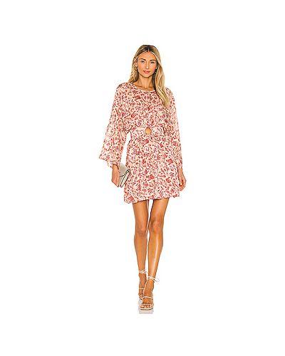 Платье с вырезом с подкладкой металлическое Minkpink