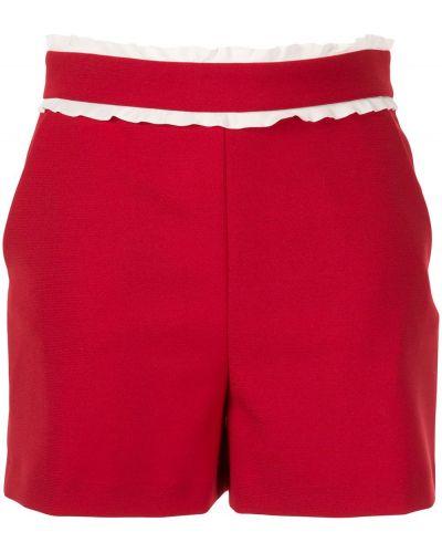 Шорты с оборками с карманами Red Valentino