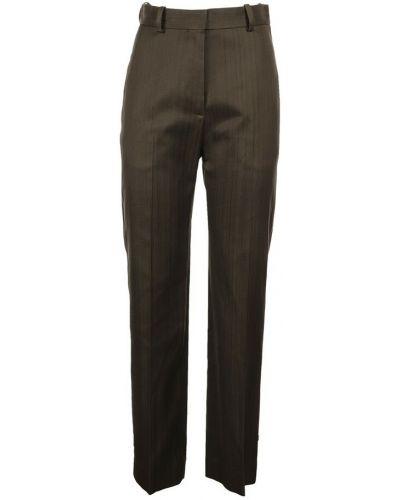 Brązowe spodnie Toteme