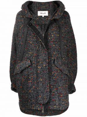 Płaszcz z kapturem Dvf Diane Von Furstenberg