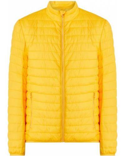 Żółta kurtka pikowana Montego