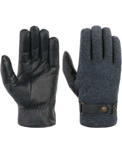 Niebieskie rękawiczki Stetson