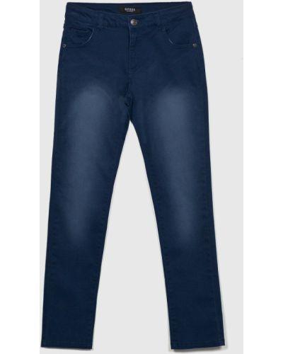 Брюки темно-синий синий Guess Jeans