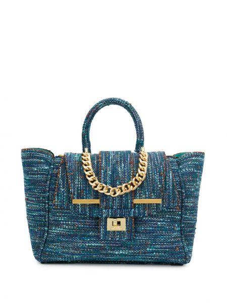 Синяя сумка-тоут Alila