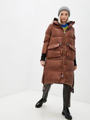 Утепленная куртка - коричневая Rinascimento