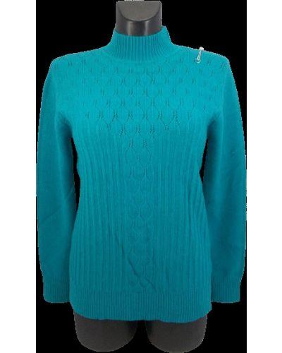 Шерстяной свитер - бирюзовый Gertie