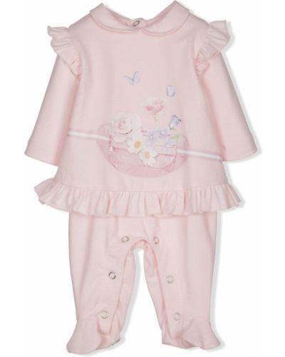 Klasyczny różowy garnitur bawełniany Lapin House