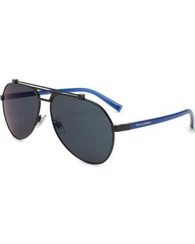 Солнцезащитные очки двойные узкого кроя Dolce & Gabbana