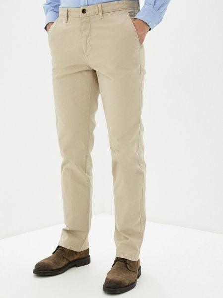 Бежевые брюки чиносы Cortefiel