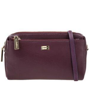 Кожаная сумка через плечо маленькая Fabretti