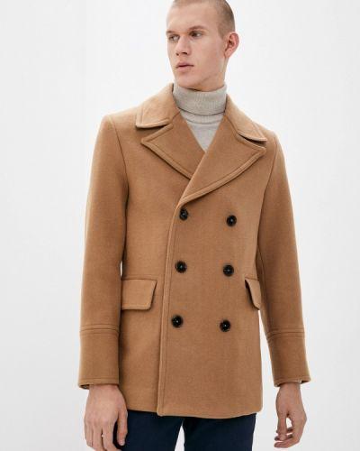 Бежевое пальто Mango Man