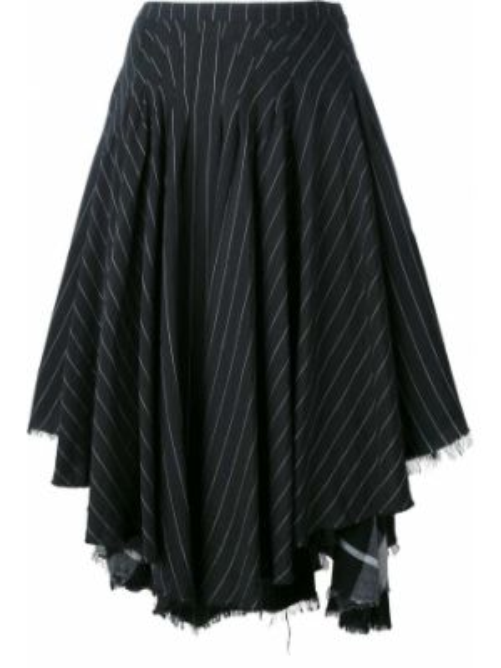 Черная ажурная льняная юбка макси винтажная Kenzo Pre-owned