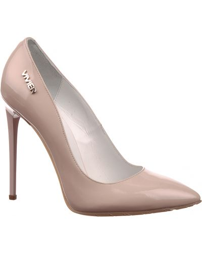 Туфли на каблуке кожаные осенние Genuin Vivier