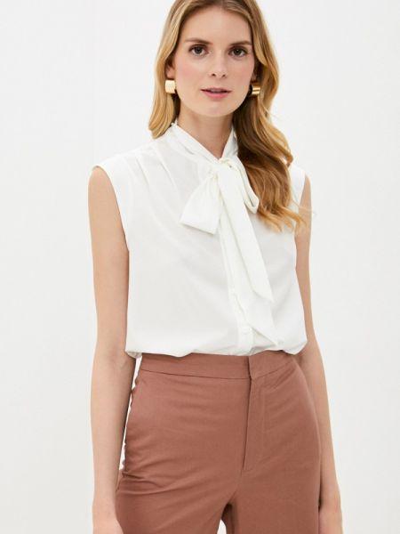 Белая блузка без рукавов снежная королева