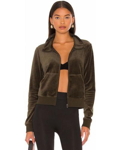 Куртка на молнии - зеленая Pam & Gela