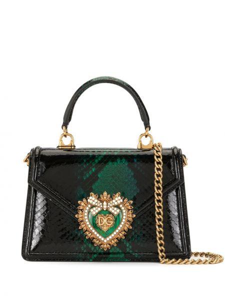 Torebka na łańcuszku, czarny Dolce And Gabbana