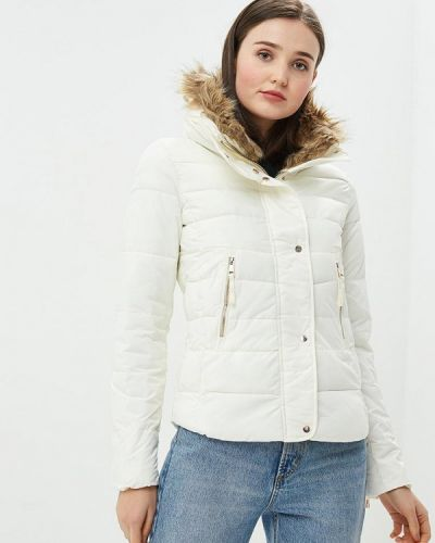 Утепленная куртка - белая Alcott
